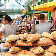 Bakery at Borough market, London