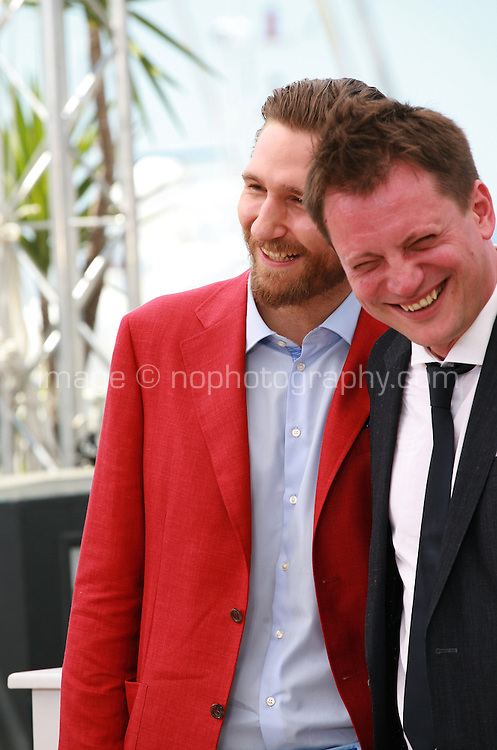 Actor Goran Markovic, Director Dalibor Matanic at the Zvizdan (The High Sun) film photo call at the 68th Cannes Film Festival Sunday 17th May 2015, Cannes, France.