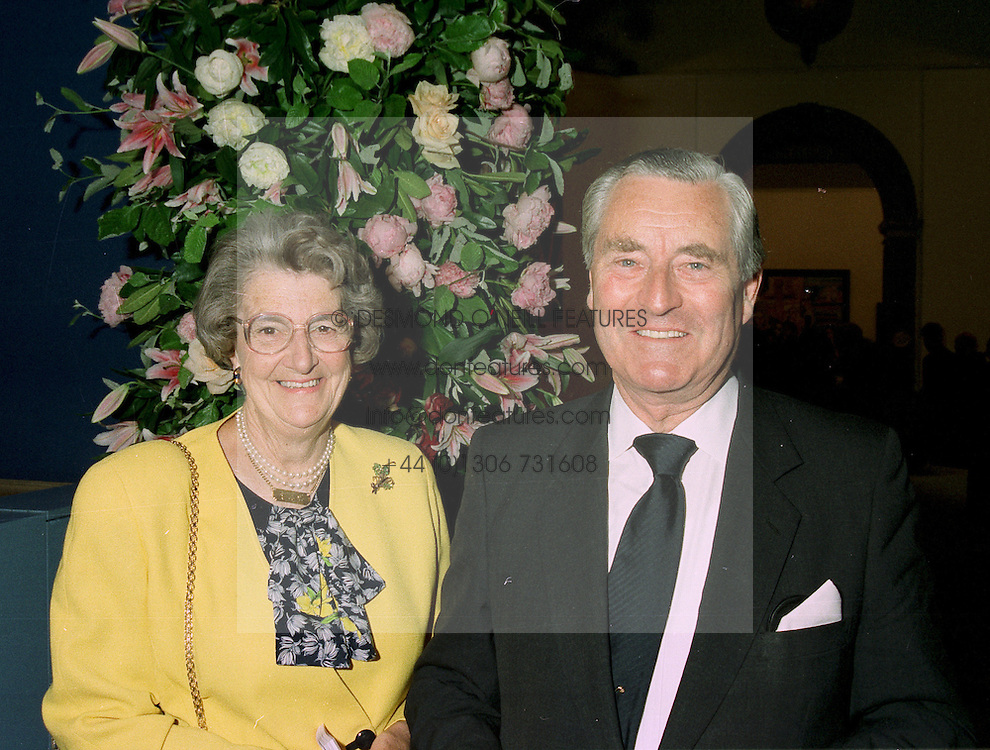 LORD & LADY KINGSDOWN, he was the Governor of the Bank of England, at an exhibition in London on 27th May 1997.LYR 8