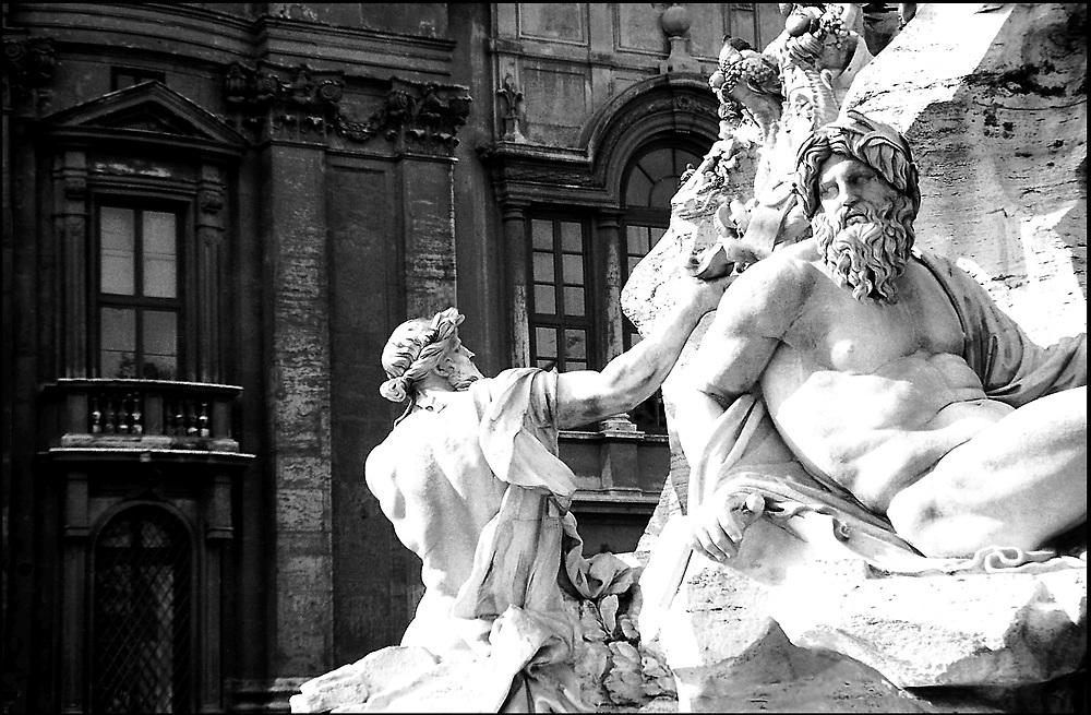 Piazza Navona, Rome / Catalog #105