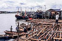 Riau Islands, Bintan. Tanjung Pinang harbour. Not to safe quay.
