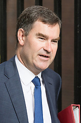 Downing Street, London, September 13th 2016. Chief Secretary to the Treasury David Gauke arrives for the weekly cabinet meeting at Downing Street.