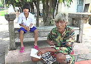 "THANKS TO INTERNET, POOR ELDERLY MAN BECOMES MILLIONAIRE<br /> <br /> BURIRAM — On Tuesday, 72-year-old Paen Paewpongsong was penniless after losing his 15,000 baht life savings. By Friday, he was a millionaire thanks to donations from strangers throughout the realm who heard about his plight from the news.<br /> The response was so overwhelming that Paen today urged netizens to stop sending him money, saying he already had enough to fix his dilapidated hovel in Buriram and provide comfort to his 69-year-old wife and a 6-year-old, developmentally disabled granddaughter.<br /> <br /> Find someone else in need, he suggested.<br /> <br /> ""I want them to share their help with other people who lack opportunity,"" Paen told reporters.<br /> <br /> Paen said he lost his wallet containing all his savings of 15,000 baht on Tuesday at a hospital where he was renewing his disability health card for his granddaughter, Arisa, who has Down syndrome.<br /> <br /> According to Paen, that money was all they had left after collecting their small welfare benefits and an allowance his children send from another province.<br /> <br /> After word spread on social media, donations poured in from people who were moved by his story. By Friday morning the total reached just shy of 1.3 million baht, prompting Paen to say that was enough.<br /> <br /> In interviews, Paen has said he also hopes to use some of the money to fix his wooden house for the upcoming winter, which can be harsh and even fatal in the northeast.<br /> <br /> Bundit Onsakorn, chief of Buriram City police, said patrols have been dispatched to Paen's home in order to ward off any potential scammers who might take advantage of his newfound wealth."