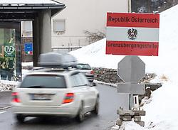 """THEMENBILD - Die ehemalige Grenzstation der Österreichischen Zollwache am Bundesstraßengrenzübergang, Fahrtrichtung Italien, aufgenommen am Sonntag, 7. Februar 2016, in Gries am Brenner. Tirols Landeshauptmann Günther Platter hat die vorbereitenden Planungsarbeiten der Polizei für eine mögliche Grenzsicherung am Brenner begrüßt. Auch wenn es dort derzeit noch kein erhöhtes Flüchtlingsaufkommen gebe, sei es """"gut"""" dass die Exekutive die Planungen """"für ein Grenzmanagement nach den Erkenntnissen von Spielfeld in Angriff genommen hat"""" // The former border station of the Austrian customs guard at the federal highway border crossing, direction Italy, taken on Sunday, February 7, 2016, in Gries am Brenner. Tyrol Governor Günther Platter welcomed the preparatory planning work of the police for a possible border security at the Brennerpass. EXPA Pictures © 2016, PhotoCredit: EXPA/ Johann Groder"""