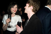 Sophie Ellis-Bextor and Richard Jones Dom Perignon and Claudia Schiffer host a celebration of Dom Perignon Oenotheque 1995. The Landau, Portland Place. London W1. 26 February 2008.  *** Local Caption *** -DO NOT ARCHIVE-© Copyright Photograph by Dafydd Jones. 248 Clapham Rd. London SW9 0PZ. Tel 0207 820 0771. www.dafjones.com.