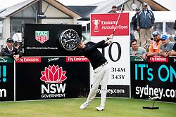 November 15, 2018 - Sydney, NSW, U.S. - SYDNEY, AUSTRALIA - NOVEMBER 15: Cameron Davis (AUS) tees off at the tenth hole at Day 1 of The Emirates Australian Open Golf on November 15, 2019, at The Lakes Golf Club in Sydney, Australia. (Photo by Speed Media/Icon Sportswire) (Credit Image: © Speed Media/Icon SMI via ZUMA Press)