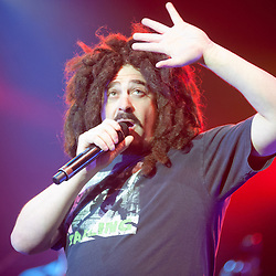 London,UK - 22  April 2013: Counting Crows perform live at Hammersmith Apollo