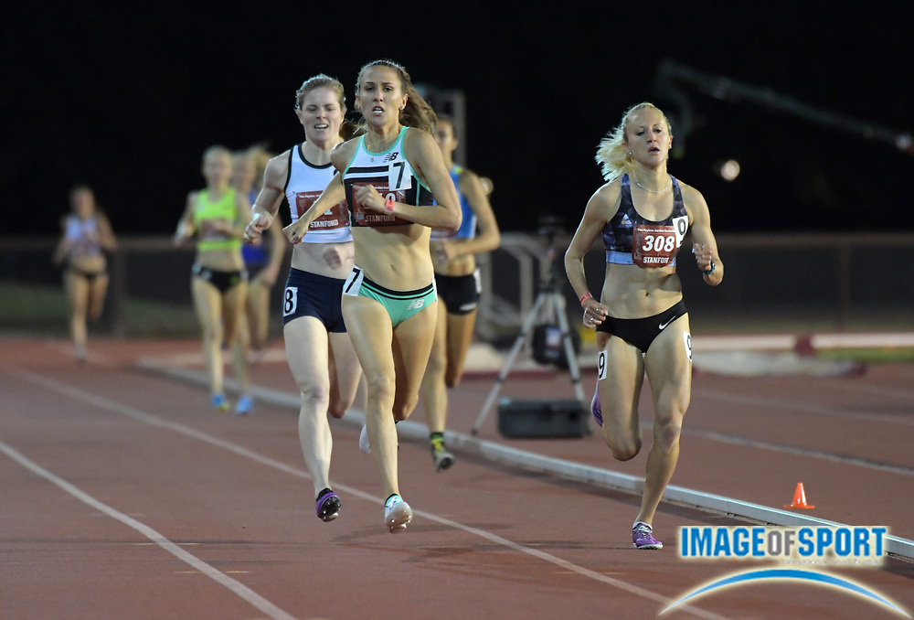May 2, 2019; Stanford, CA, USA; Lianne Farber wins a women's 1,500m heat in 4:12.81 during the 24th Payton Jordan Invitational at Cobb Track & Angell Field.