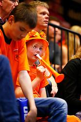 20140425 NED: Jong Oranje Vrouwen - Montenegro, Arnhem <br /> Public support Jong Oranje Vrouwen<br /> ©2014-FotoHoogendoorn.nl / Pim Waslander