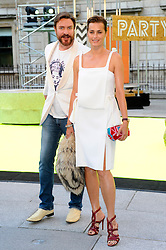 Jasmine & Simon LeBon attends the preview party for The Royal Academy of Arts Summer Exhibition 2013 at Royal Academy of Arts on June 5, 2013 in London, England. Photo by Chris Joseph / i-Images.