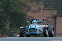 #155 Carl Nairn Caterham R300 2000 during the CSCC Gold Arts Magnificent Sevens at Oulton Park, Little Budworth, Cheshire, United Kingdom. October 15 2016. World Copyright Peter Taylor/PSP. <br /> Copy of publication required for printed pictures.  Every used picture is fee-liable. http://archive.petertaylor-photographic.co.uk