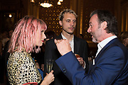 HENRI TIEFENTHALER; OLI WENNINK; MATTHEW ORR TenTen. The Government Art Collection/Outset Annual Award. Champagne reception to announce the inaugural artist Hurvin Anderson and unveil his 2018 print. Locarno Suite, Foreign and Commonwealth Office. SW1. 2 October 2018