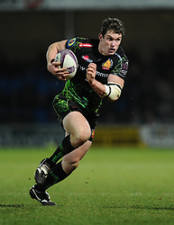 Exeter Chiefs' Right Wing, Ian Whitten  - Photo mandatory by-line: Joe Meredith/JMP - Mobile: 07966 386802 - 24/01/2015 - SPORT - Rugby - Exeter - Sandy Park Stadium - Exeter Chiefs v Bayonne - Challenge Cup Round 6
