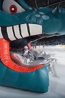 KELOWNA, CANADA - JANUARY 10:  Tomas Soustal #15 of Kelowna Rockets enters the ice against the Medicine Hat Tigers on January 10, 2015 at Prospera Place in Kelowna, British Columbia, Canada.  (Photo by Marissa Baecker/Shoot the Breeze)  *** Local Caption *** Tomas Soustal;