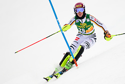 January 7, 2018 - Kranjska Gora, Gorenjska, Slovenia - Maren Wiesler of Germany competes on course during the Slalom race at the 54th Golden Fox FIS World Cup in Kranjska Gora, Slovenia on January 7, 2018. (Credit Image: © Rok Rakun/Pacific Press via ZUMA Wire)