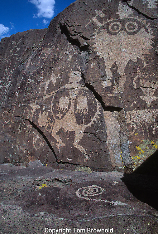 Plains Indian Petroglyphs in the Galisteo Basin of New Mexico