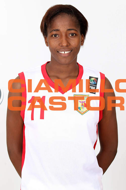 DESCRIZIONE : Ankara Turkey FIBA Olympic Qualifying Tournament for Women 2012<br /> GIOCATORE : Farima TOURE<br /> SQUADRA : Mali<br /> EVENTO :  FIBA Olympic Qualifying Tournament for Women 2012<br /> GARA : <br /> DATA : 24/06/2012<br /> CATEGORIA : head shot<br /> SPORT : Pallacanestro <br /> AUTORE : Agenzia Ciamillo-Castoria/ElioCastoria<br /> Galleria : FIBA Olympic Qualifying Tournament for Women 2012<br /> Fotonotizia : Ankara Turkey FIBA Olympic Qualifying Tournament for Women 2012<br /> Predefinita :
