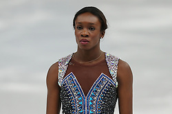 The XXII Winter Olympic Games 2014 in Sotchi, Olympics, Olympische Winterspiele Sotschi 2014<br /> Mae Berenice Meite (France) performs her free skating program during the womens singles figure skating competition at the XXII Olympic Winter Games in Sochi.