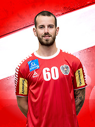 26.10.2018, Raiffeisen Sportpark, Graz, AUT, ÖHB, Fototermin Herren Nationalteam, im Bild Martin Breg (AUT) // during a Portrait Photoshoot of the Austrian men' s handball National Team at the Raiffeisen Sportpark, Graz, Austria on 2018/10/26. EXPA Pictures © 2018, PhotoCredit: EXPA/ Sebastian Pucher