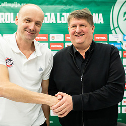 20190221: SLO, Basketball - Jure Zdovc as a new coach of KK Petrol Olimpija