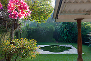BRIEF GARDEN. Bevis Bawa.<br />Private garden at back of house.