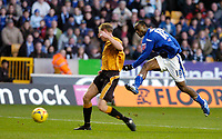 Photo: Leigh Quinnell.<br /> Wolverhampton Wanderers v Leicester City. Coca Cola Championship. 09/12/2006. Elvis Hammond fires in a goal for Leicester.