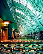 Hallway in the Salt Palace convention center, Salt Lake City, UT