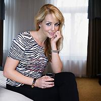 Nederland, Amsterdam , 10 januari 2012..Musicalster en presentatrice Chantal Janzen..Foto:Jean-Pierre Jans