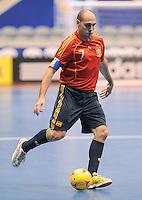 Fussball  International  FIFA  FUTSAL WM 2008   01.10.2008 Vorrunde Gruppe D Spain - Iran Spanien- Iran JAVI RODRIGUEZ (ESP) am Ball.