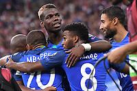 SOCCER : France vs Netherland - World Cup Qualify - 08/31/2017<br /> 06 PAUL POGBA (fra) - 08 THOMAS LEMAR (fra) - 18 Nabil Fekir (fra) - JOIE<br /> <br /> Norway only