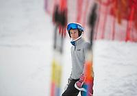 Nyquist Memorial Slalom with Gunstock Ski Club.    ©2018 Karen Bobotas Photographer