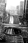 Het verkeer in de metropool