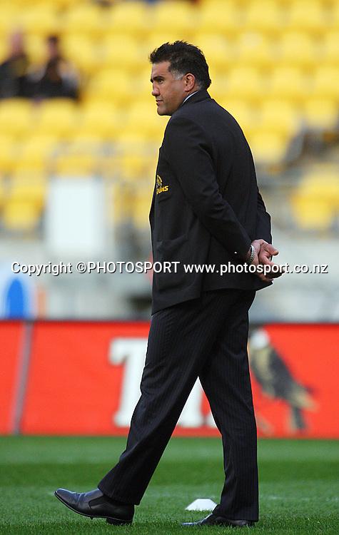 Wellington coach Jamie Joseph.<br /> Air NZ Cup semi-final. Wellington Lions v Southland Stags at Westpac Stadium, Wellington, New Zealand, Friday, 17 October 2008. Photo: Dave Lintott/PHOTOSPORT