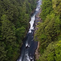 Quechee Gorge, Quechee, Vermont.  Ottauquechee River.