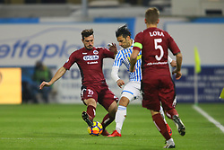 """Foto LaPresse/Filippo Rubin<br /> 28/11/2017 Ferrara (Italia)<br /> Sport Calcio<br /> Spal - Cittadella - Coppa Italia 2017/2018 - Stadio """"Paolo Mazza""""<br /> Nella foto: SERGIO FLOCCARI<br /> <br /> Photo LaPresse/Filippo Rubin<br /> November 28, 2017 Ferrara (Italy)<br /> Sport Soccer<br /> Spal - Cittadella - Italy's Cup 2017/2018 - """"Paolo Mazza"""" Stadium <br /> In the pic: SERGIO FLOCCARI"""