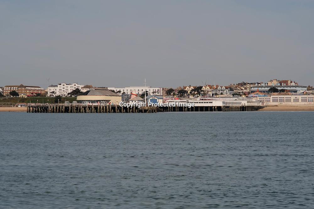 Clacton Pier on the Essex Coast