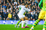 Leeds United forward Tyler Roberts (11) during the EFL Sky Bet Championship match between Leeds United and West Bromwich Albion at Elland Road, Leeds, England on 1 October 2019.