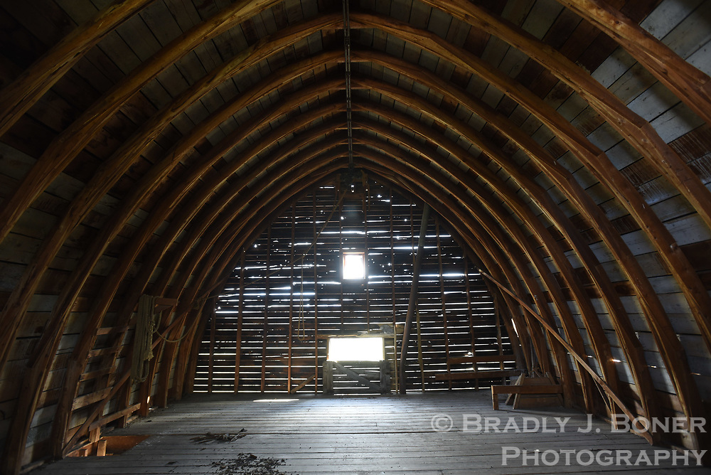 Sandy Chapman's barn collapse
