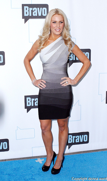 Gretchen Rossi attends the 2010 Bravo Media Upfront Party at Skylight Studios in New York City on March 10, 2010.