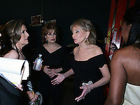 28 April 2006: Barbara Walters and other members of 'The View'. Behind the scenes outside the exclusive behind the scenes photos of celebrity television stars in the STAR greenroom at the 33rd Annual Daytime Emmy Awards at the Kodak Theatre at Hollywood and Highland, CA. Contact photographer for usage availability.