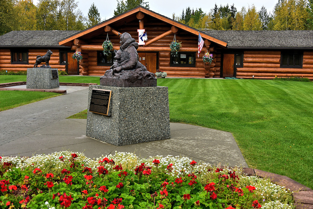 Iditarod Headquarters in Wasilla, Alaska<br /> Behind the doors of this log cabin in Wasilla, Alaska, is the Iditarod headquarters.  Here you can learn how Joe Redington, Sr. founded &ldquo;The Last Great Race on Earth&rdquo; in 1973, see historic memorabilia from the 1,150 mile sled dog race and take your own short ride behind a dog team.  Or, if you&rsquo;re willing, sign up for the next event in March and enjoy your brutal travel from Anchorage to Nome in blizzard conditions and wind chills of -100&deg; F.  That endurance test lasts 9 to 17 days.
