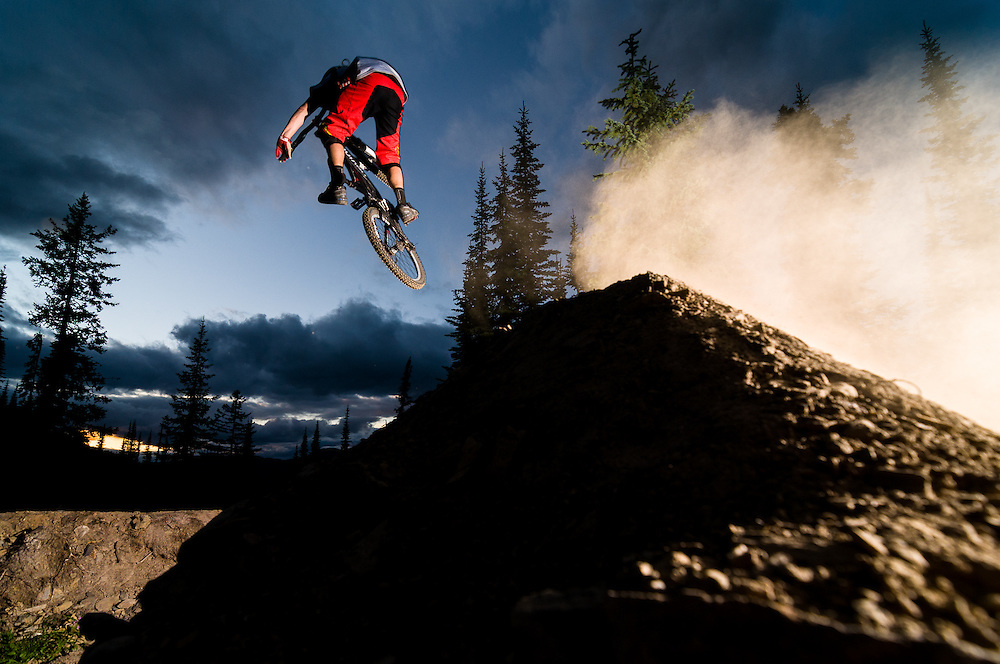Ian Morrison, Paddy's Trail, Retallack Lodge, BC.