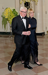 Actor Mike Myers and Kelly Myers arrive for the State Dinner in honor of Prime Minister Trudeau and Mrs. Sophie Grégoire Trudeau of Canada at the White House in Washington, DC on Thursday, March 10, 2016. EXPA Pictures © 2016, PhotoCredit: EXPA/ Photoshot/ Ron Sachs<br /> <br /> *****ATTENTION - for AUT, SLO, CRO, SRB, BIH, MAZ, SUI only*****