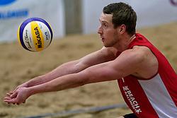 04-01-2020 NED: NK Beach volleyball Indoor, Aalsmeer<br /> Mathijs Linders