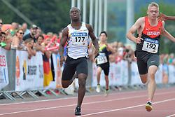 05/08/2017; Lucumi Villegas, Luis Fernando, T38, COL, Rill, Dennis, GER at 2017 World Para Athletics Junior Championships, Nottwil, Switzerland