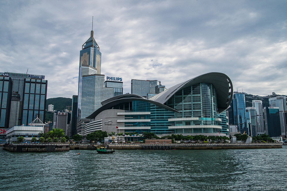 Convention & Exhibition Centre + Central Plaza Tower, Wan Chai