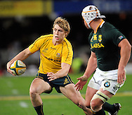 James O'Connor from Australia during the Tri Nations Test match between South Africa and Australia at the Kingspark Stadium in Durban on 13 Aug 2011..© Gerhard Steenkamp/Superimage
