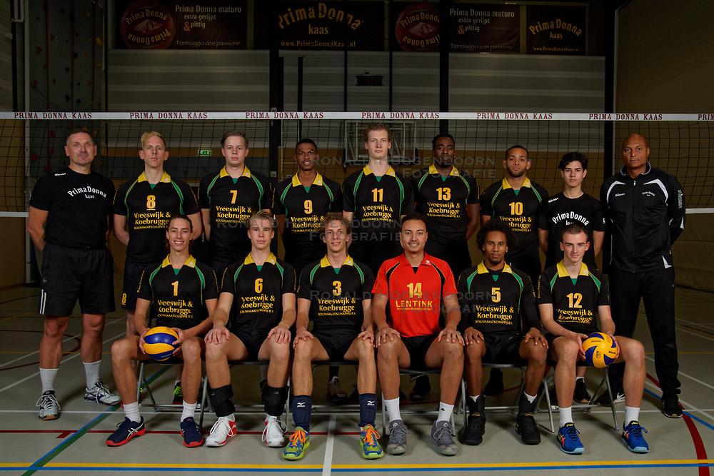 14-10-2019 NED: Portraits Prima Donna Kaas Huizen men, Huizen<br /> Photoshoot PDK Huizen / Team PDK Huizen men