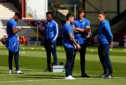 Bristol Rovers arrive at The Northern Commercials Stadium (Valley Parade), home of Bradford City - Mandatory by-line: Robbie Stephenson/JMP - 02/09/2017 - FOOTBALL - Northern Commercials Stadium - Bradford, England - Bradford City v Bristol Rovers - Sky Bet League One