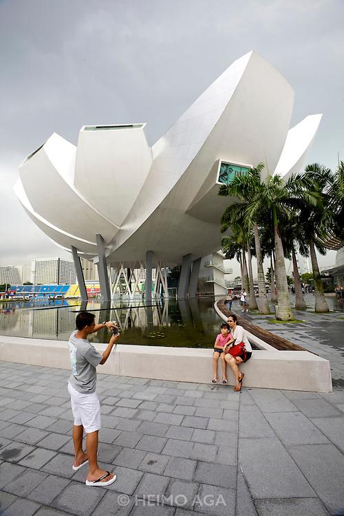 Singapore. Marina Bay Sands. ArtScience Museum.